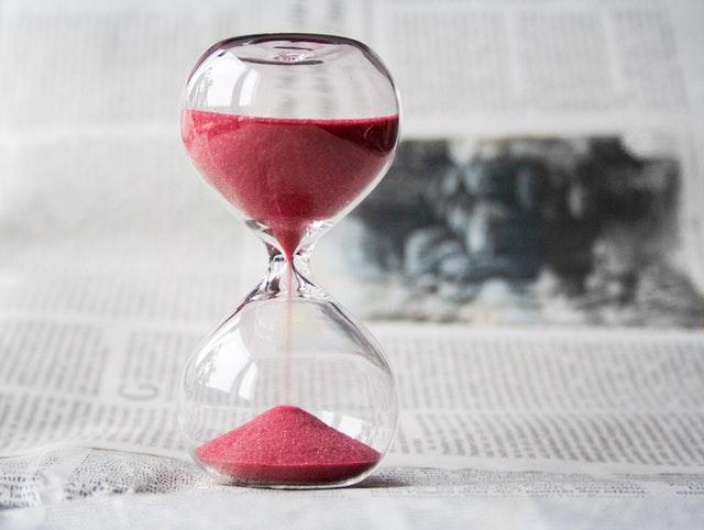 שעון חול - זמן