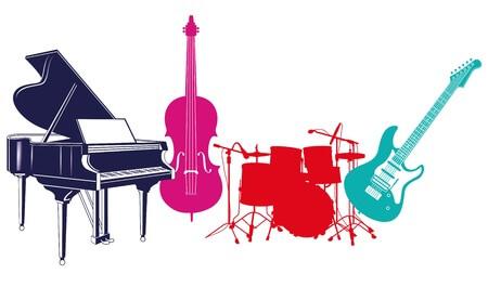 פסנתר וגיטרה